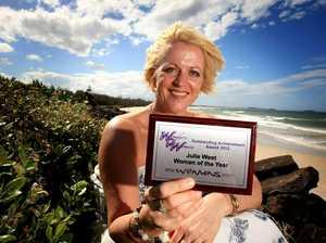 Julie named Tweed's woman of year