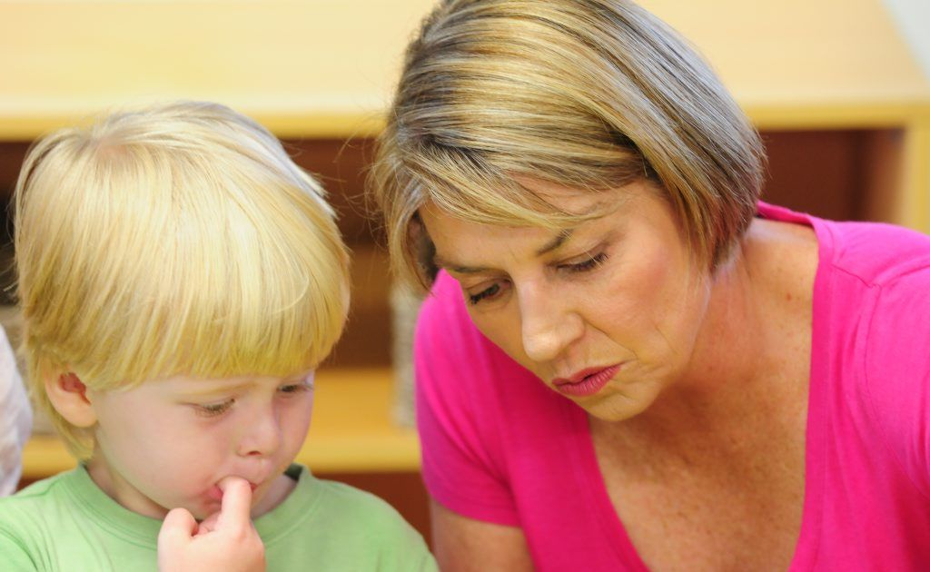 Anna Bligh visits Gowrie Caboolture Early Learning Centre on Tuesday.