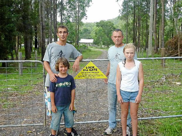 Hamish Giles and his family Ari, Isabella and Peter Lynch decide to Lock the Gate.
