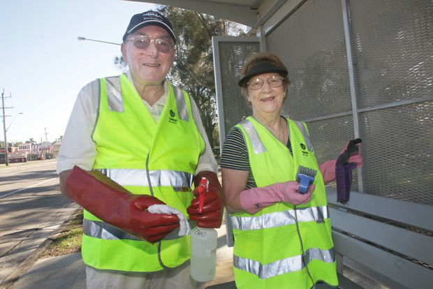 Gordon and Doreen Levenson are passionate about cleaning up the community