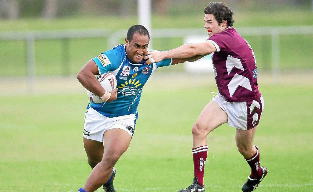 Filinga Filiga, the only remaining member of the Sea Eagles' 2009 grand final-winning team, has been hindered by an ankle injury for the past month.