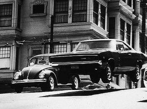 Bullitt car chase remade