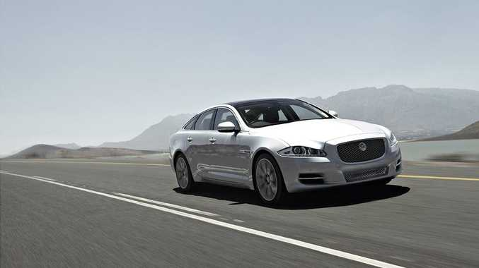Smooth, big and intimidating, the Jaguar XJ has a classy personality.
