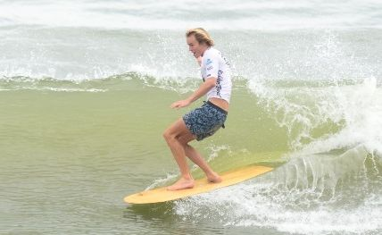 Action from day four of the Noosa Festival of Surfing