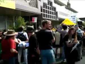 CSG protest