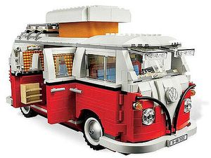 Relive VW Kombi days with Lego