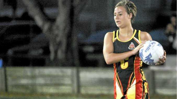 Rockhampton Grammar School's centre Ella Lawrie proved dangerous in Wednesday night's game against Bluebirds.
