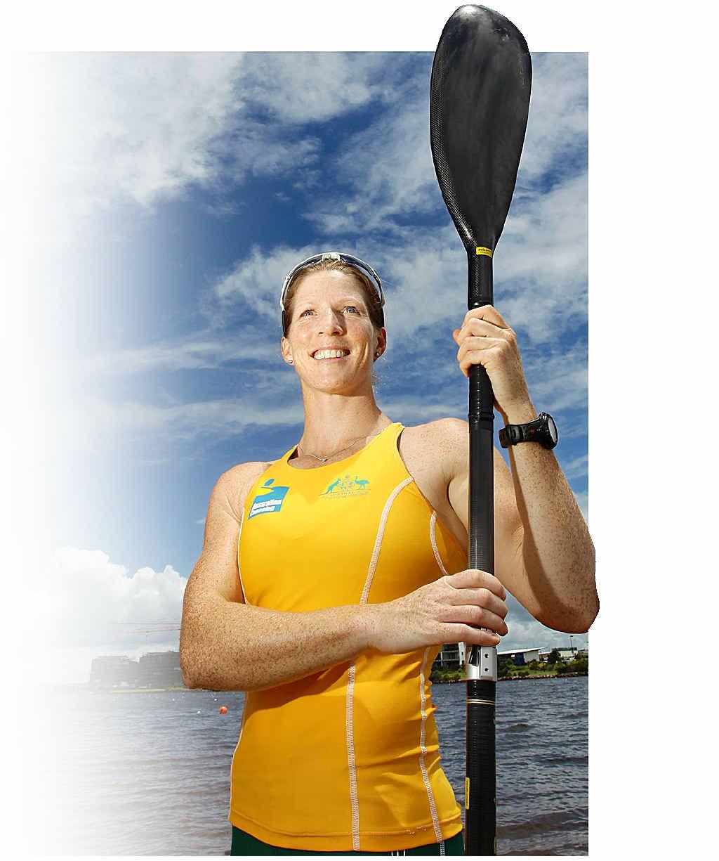 Rachel Lovell has set her sights on a gold medal.