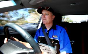 Driving instructor Leyland Barnett