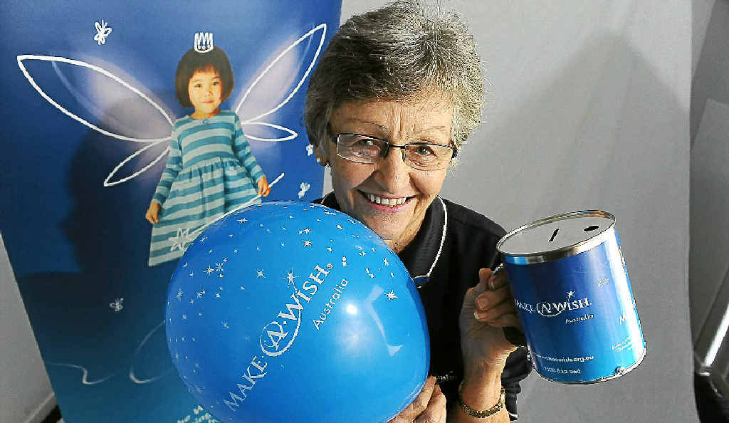 Make-A-Wish Foundation Bundaberg branch president Pat Russell continues to do a great job for the community despite huge financial cutbacks from head office experienced across Australia.