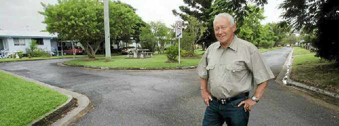 Barry Saunders, caretaker of Talbot Estate on Lion Creek Rd, believes the non-profit seniors independent living estate should be expanded.