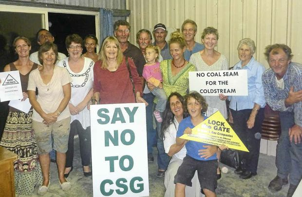 Pillar Valley's Lock the Gate working group is determined to prevent coal-seam gas mining in the Clarence Valley.