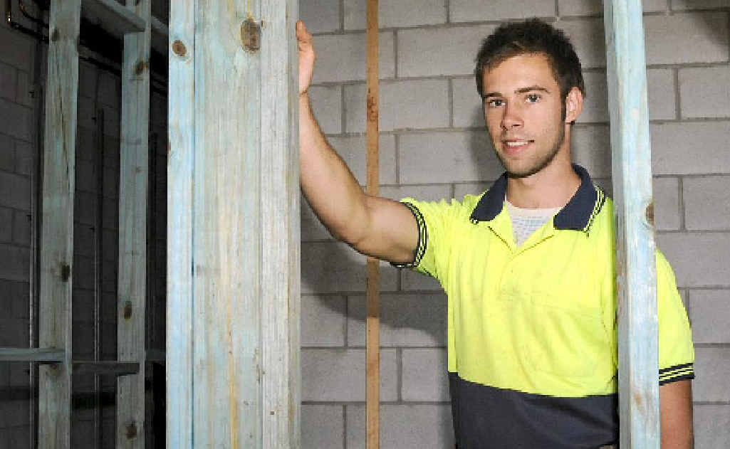 Corey Maslen says the first few years of an apprenticeship can be tough but it is worth it in the end.