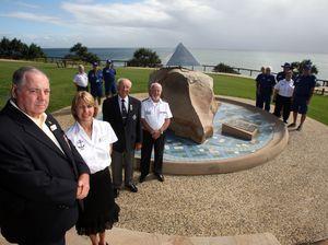 Marine Rescue watches memorial