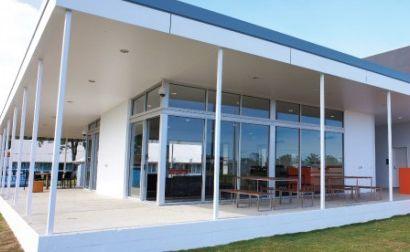 Three storey student accommodation building at CQU Mackay campus