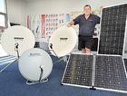 Solar 'N' Sat owner Rick Shervey opened the doors to his second store last week in the Urangan Airport Industrial Estate. He also owns a store in Gin Gin.