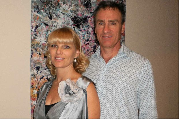 Gavin May, pictured with his wife, Kelly, will speak about how he went from mining to stocks and how it has changed his life.
