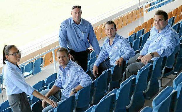(From left) Kobi Wilson, Matt Waterson, Peter White, Aaron Earnshaw and Brenton Williamson.