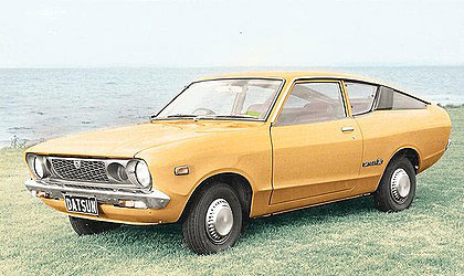 An old favourite, the Datsun 120Y.