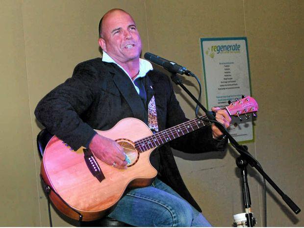 Australian country singer James Blundell.