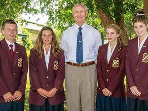 School leaders are sworn in