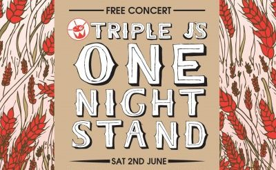 The free One Night Stand Concert will feature Matt Corby, The Temper Trap, Stonefield and 360.