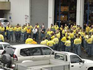 Union takes campaign against Ergon job cuts to the streets