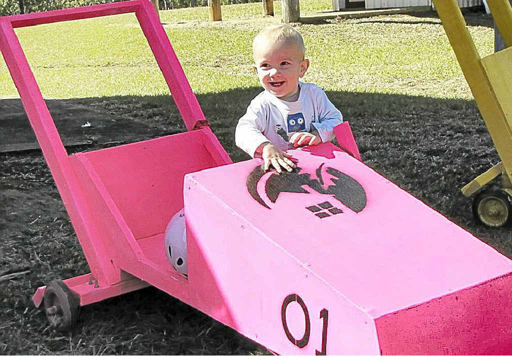 A young billycart enthusiast will have more reason to smile with council cash on the way