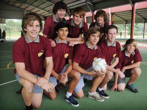 Gympie High futsal team in final