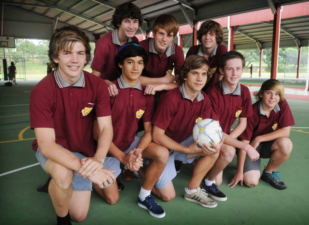 Daniel Robinson, Mitch Davis, Connor Jocumsen, Josh Truda, Billy Bayldon, Andrew Petrie, Ethan Boreham and Brad Morsch are off to play in the futsal final today.