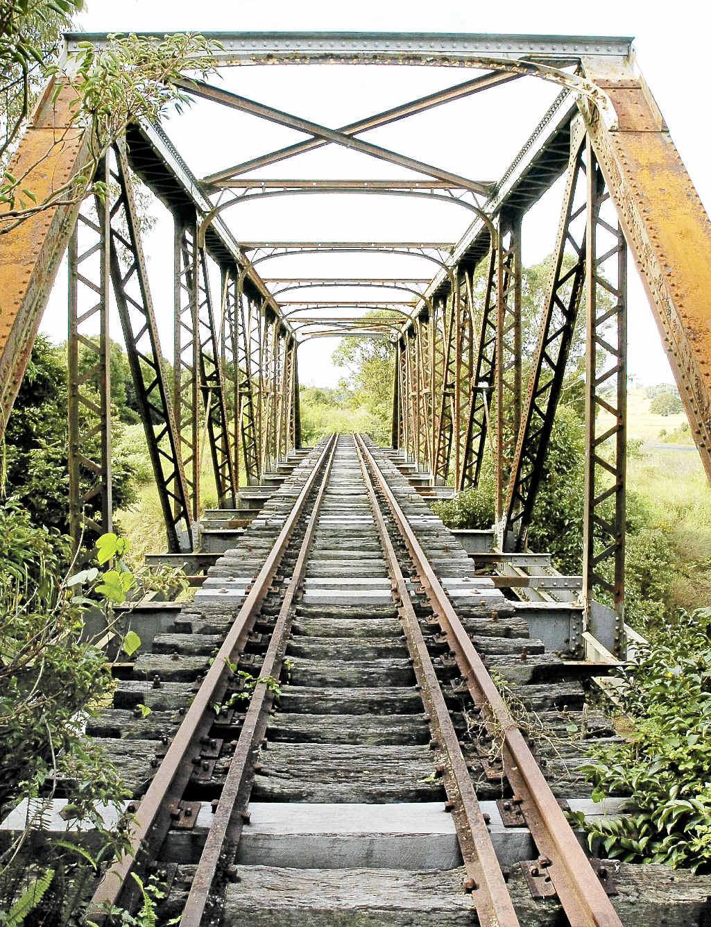 Eltham railway bridge.