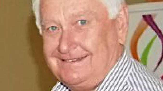 Veteran WIN weatherman Peter Byrne.