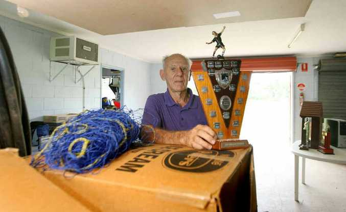 Bryan Graff is again preparing the Junior Soccer Club at Norbridge Park for a Fitzroy River flood a little more than a year after the last one.