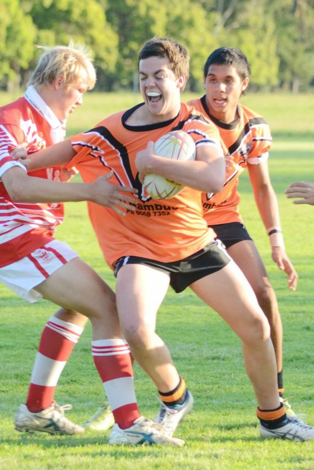 Junior league grandfinals at Coramba Sports Grounds. Bowraville vs Kempsey Photo Leigh Jensen/ Coffs Coast Advocate