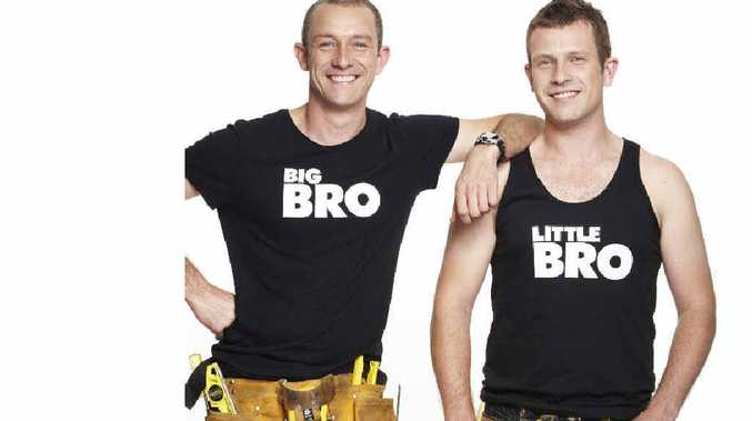 Brothers Andrew Jones, 37, of Byron Bay, and Mike Jones, 29, from Bondi, are to appear on TV's The Block. Channel 7