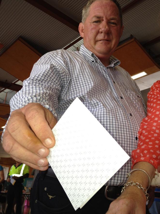 Former Labor MP for Mackay Tim Mulherin