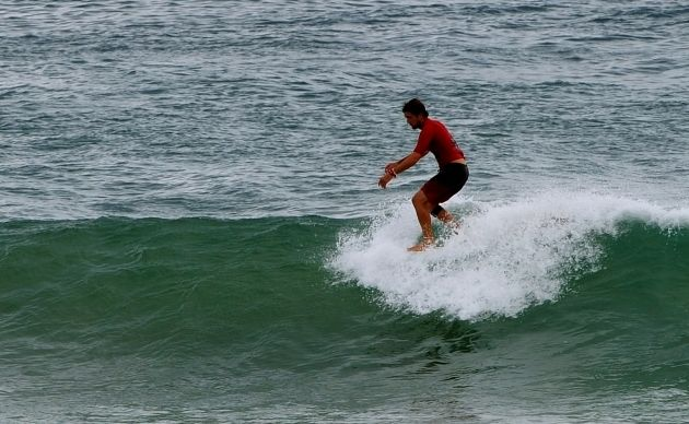 Former longboard world champion Harley Ingleby from Emerald Beach finished second in the final of the Australian Longboard Surfing Open at Kingscliff.