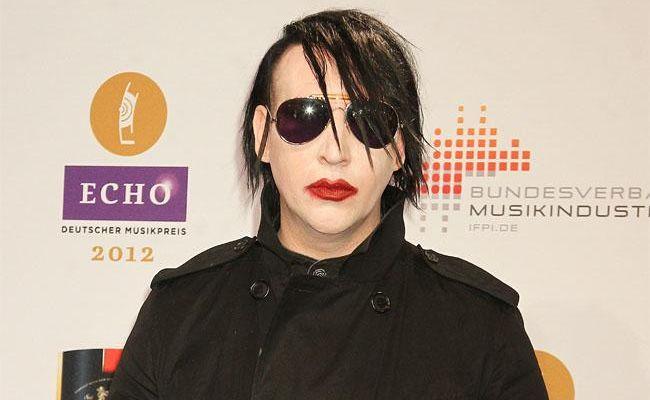 Marilyn Manson at the Echo Awards.
