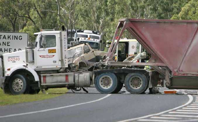 Truck driver Scott Boyle was killed early Sunday morning in a collision between the truck he was driving and another truck at The Caves, about 25km north of Rockhampton.