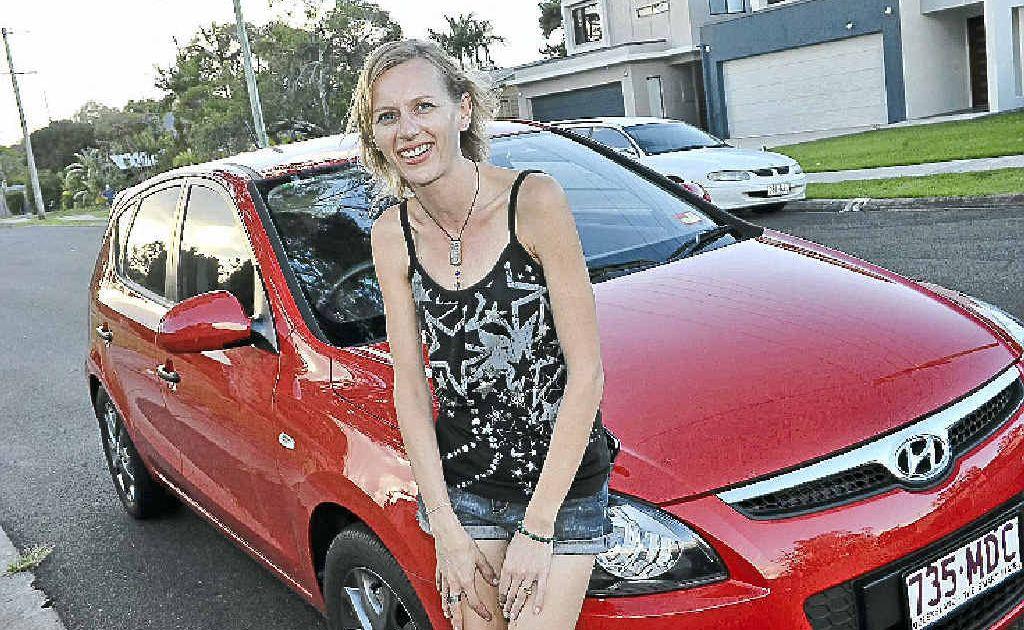 CALM: Juanita Henderson says she is a non-aggressive driver.