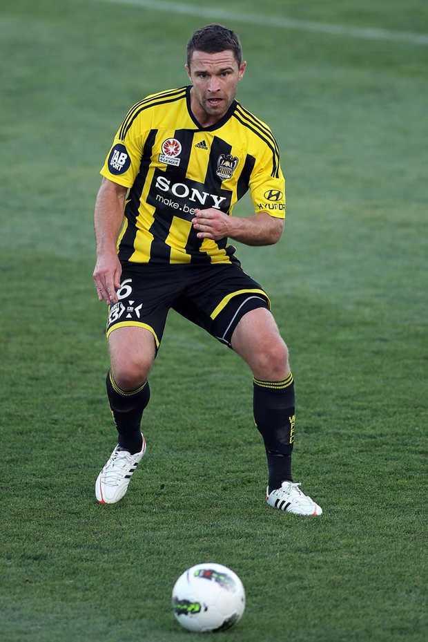 Wellington Phoenix's Tim Brown.