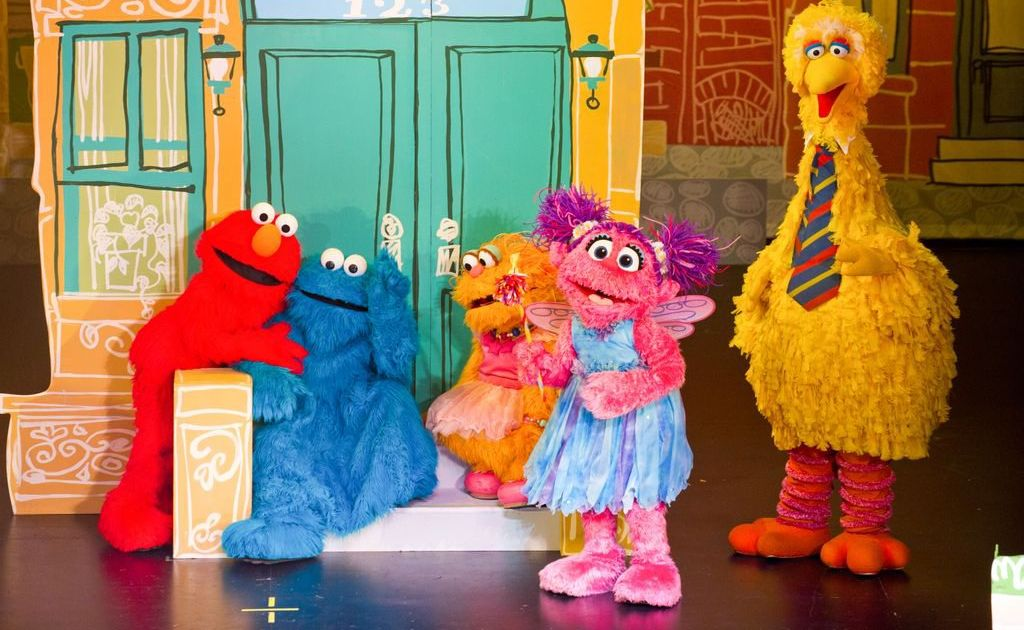 The gang from Sesame Street.