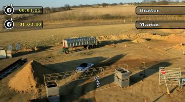 AN automotive engineer and a mobile phone game developer have created a full-sized remote racing car.