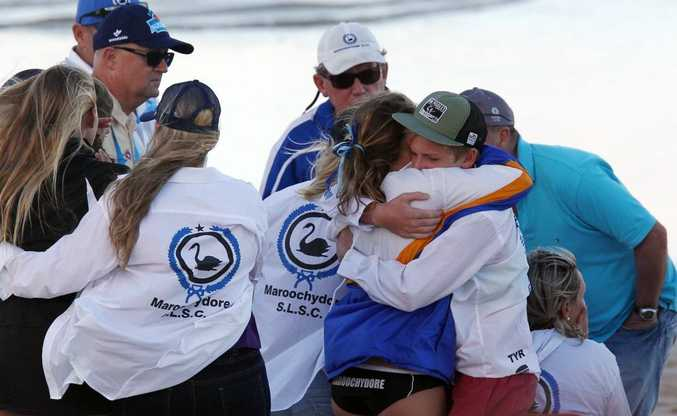 Maroochydore Surf Lifesaving Club members have been united in their grief after the tragic death of Matt Barclay at Kurrawa on the Gold Coast.