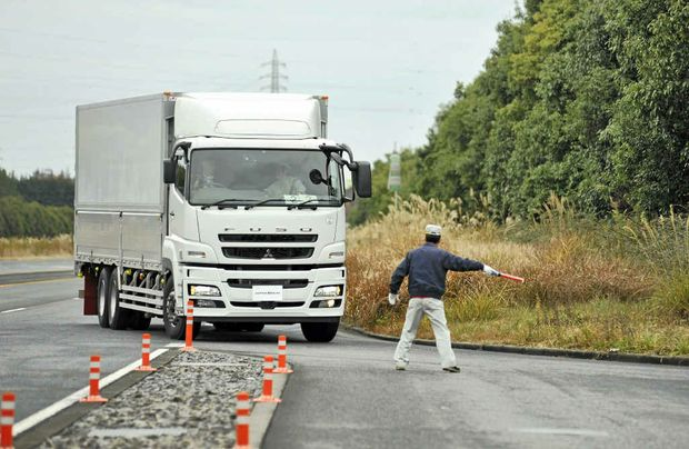 ON THE ROAD: Super Great hybrid in Japan now and being used for metropolitan delivery work.