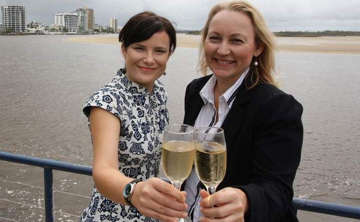 Campaign Group's Rebecca Grisman and Sarah Morgan
