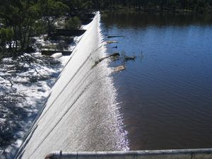 $1.25m project starts on dam wall