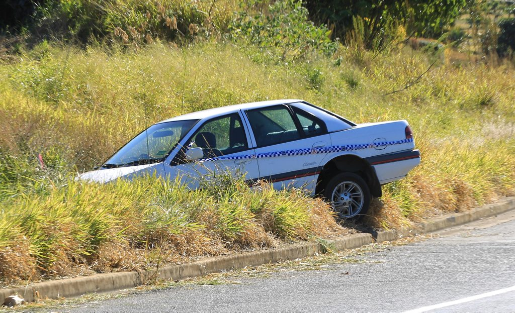 Speed limits will be reduced on Tweed Valley Way following a number of crashes. This car crashed on the road last July.