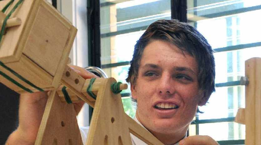 St Lukes Anglican School captain Chris McRae has been selected as part of an Australian contingent for a science tour of Europe.