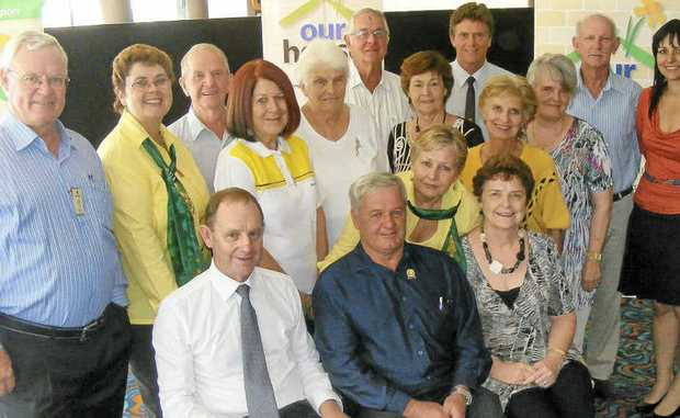 THANK YOU: The committee of the Ballina Shire Our House appeal held a function at the Ballina RSL this week to update people on their progress.